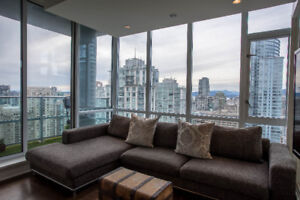 Executive Yaletown Condo for rent, 30th Floor!