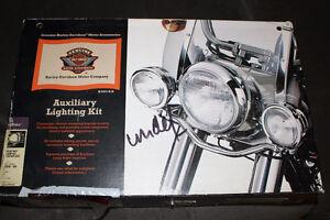 Harley Davidson Springer Auxiliary Light Kit