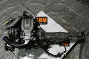 JDM 13B Twin Turbo Engine & Manual 5SPD Transmission 93+ (No War