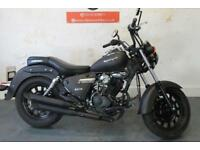 2017 67 KEEWAY SUPERLIGHT 125CC MATT BLACK *375 MILES ON THE CLOCK !*