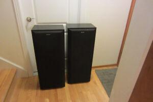 SONY Powered speakers SS-C420AV,220W.Very clean.