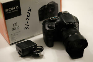*LIKE NEW* Sony Alpha a3000 20.1MP Camera + 18-55mm Kit Lens