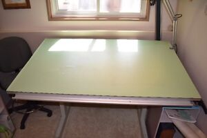 Professional Drafting Table and Chair