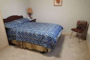 Double sized mattress, frame and headboard