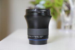 Lentille lens Zeiss Milvus 21mm f2.8 ZE (Canon EF)