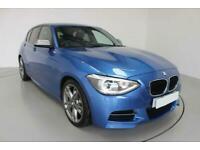 2014 BLUE BMW M135i 3.0 T SPORT PETROL MANUAL 5DR HATCH CAR FINANCE FR £241 PCM