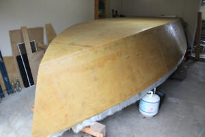 Nearly completed Boat Project