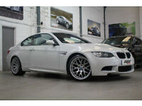BMW M3 4.0 V8 DCT COMPETITION PACK, 13 Reg, 49k, Mineral White, Nav, DAB Etc..