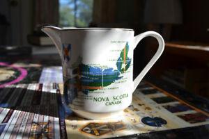 Vintage Souvenir of Nova Scotia Creamer