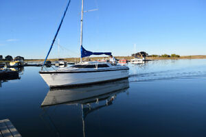 26' Water ballast sailboat and trailer for sale