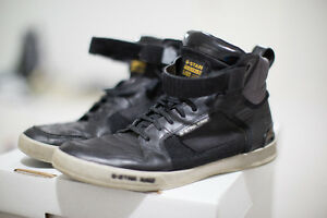 G Star Raw High Tops - Size 10.5