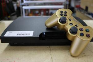 **GAME ON**  Sony Playstation 3, 160GB, Gold Controller (#16511)