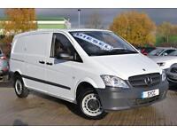 2012 Mercedes benz Vito 113CDI Cpmpact 136 BHP Van 6 door Panel Van