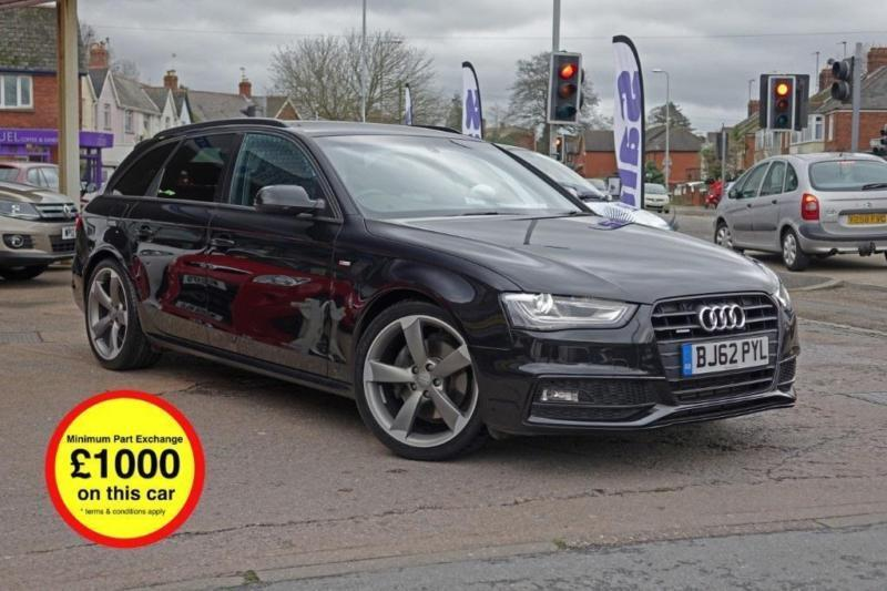 audi a4 avant tfsi quattro s line black edition petrol manual 2012 62 in exeter devon gumtree. Black Bedroom Furniture Sets. Home Design Ideas