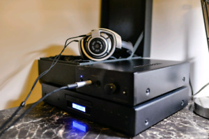 HIFI Headphone System (CD player+ amplifier+HD800 )