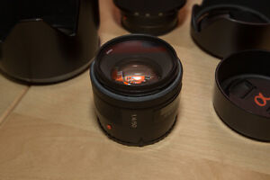 Sony 50mm F1.4 Prime A-Mount lens Kitchener / Waterloo Kitchener Area image 1