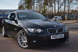 BMW 3 SERIES 335d M Sport (black) 2007