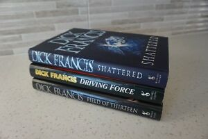 3 HARD COVER DICK FRANCIS BOOKS WITH JACKETS ~$4.99 EACH Edmonton Edmonton Area image 7
