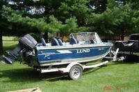 1996 Lund 1650 Fisherman