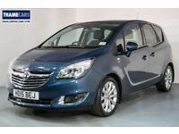 2015 Vauxhall Meriva 1.4 Turbo 140ps SE With Front And Rear Parking Sensors And