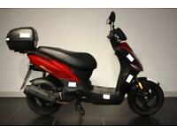 2008 58 KYMCO AGILITY 125 RED/BLACK!