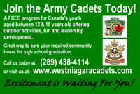 Between the ages of 12 and 18 years old? Join the Army Cadets!