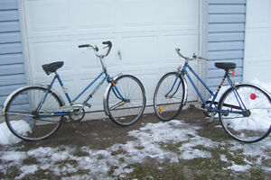 1960s LADIES BIKES 3 SPEED IN THE HUB HARD TO FIND NEED  TLC