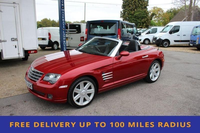 2005 Chrysler Crossfire 3 2 V6 2d 215 Bhp Convertible 6 Sd Manual 80000 Mil