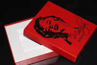 MARILYN MONROE-COLLECTION-CARTES/CARDS-EMPTY RED BOX (NEUF/NEW)