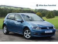 2016 Volkswagen Golf Match Edition 1.4 TSI 125 PS 6-speed manual 5 Doo Petrol bl
