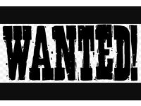 Wanted, motorcycles, project, spares, repairs and barn find.