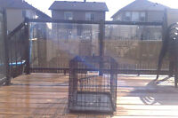 Small Metel Dog Crate