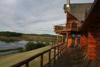 Klukas Lake Ranch and Lodge 100 km west of Grande Prairie