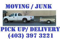CALL ME NOW! Junk removal or Pickup delivery starts $80