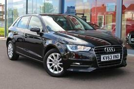 2014 AUDI A3 1.6 TDI SE GBP0 TAX, B TOOTH, DAB and NEW SHAPE