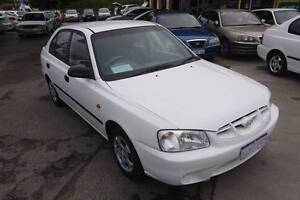 2001 Hyundai Accent Hatchback Beaconsfield Fremantle Area Preview