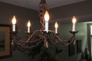 Antique Dining room chandelier