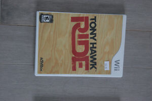 Video Game Tony Hawk Ride for Nintendo Wii