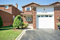Immaculate 3 Bedroom Home In The Heart Of Mississauga