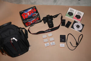Canon EOS Rebel T5i with 18-55mm lens