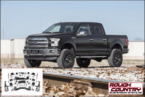 Rough Country - Suspension 6 pc (Lift Kit) Ford F150 4WD 15-18