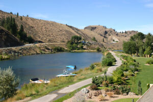 Available for short term rent furnished condo on Skaha Lake