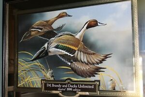 E&J Brandy and Ducks Unlimited print