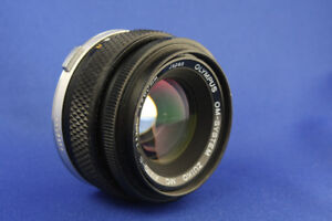 50mm f/1.8 Olympus lens for OM Film Cameras or Mirrorless Compac