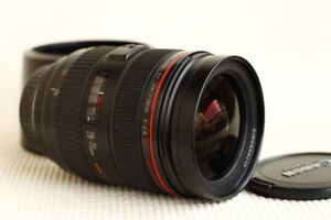 Like New Canon EF 28-70mm L f2.8 USM with Hood and caps