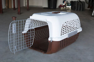 Dogit Dog Carrier – White/Brown never used