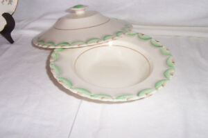VINTAGE-Handpainted dish MYOTT and others