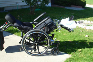 NEW,VIP, high quality tilt back air cushion wheelchair Windsor Region Ontario image 7