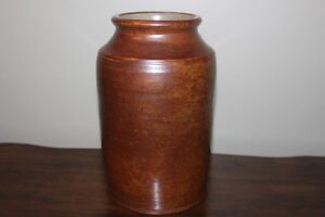 Pottery Jug for Kitchen Utensils or Floral Arrangements