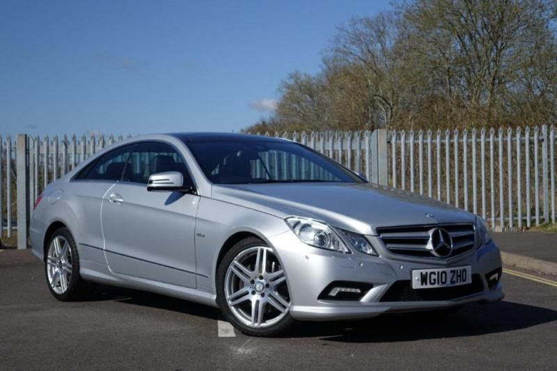 Mercedes benz e class e220 cdi coupe 2 1 blueefficiency for Devon mercedes benz